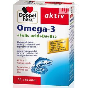 Doppelherz Aktiv Omega-3 Folic Acid, B6+B12 | Vitamins & Supplements for sale in Lagos State, Alimosho