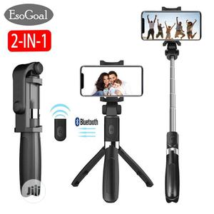 Bluetooth Selfie Stick With Tripod Stand   Accessories for Mobile Phones & Tablets for sale in Rivers State, Port-Harcourt