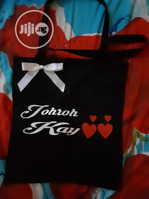 Customized Tote Bag With Bow   Bags for sale in Kwara State, Ilorin South