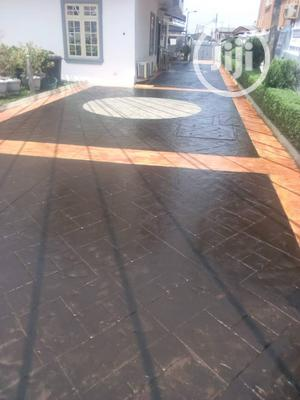Stamp Floor Installation | Cleaning Services for sale in Lagos State, Ogudu