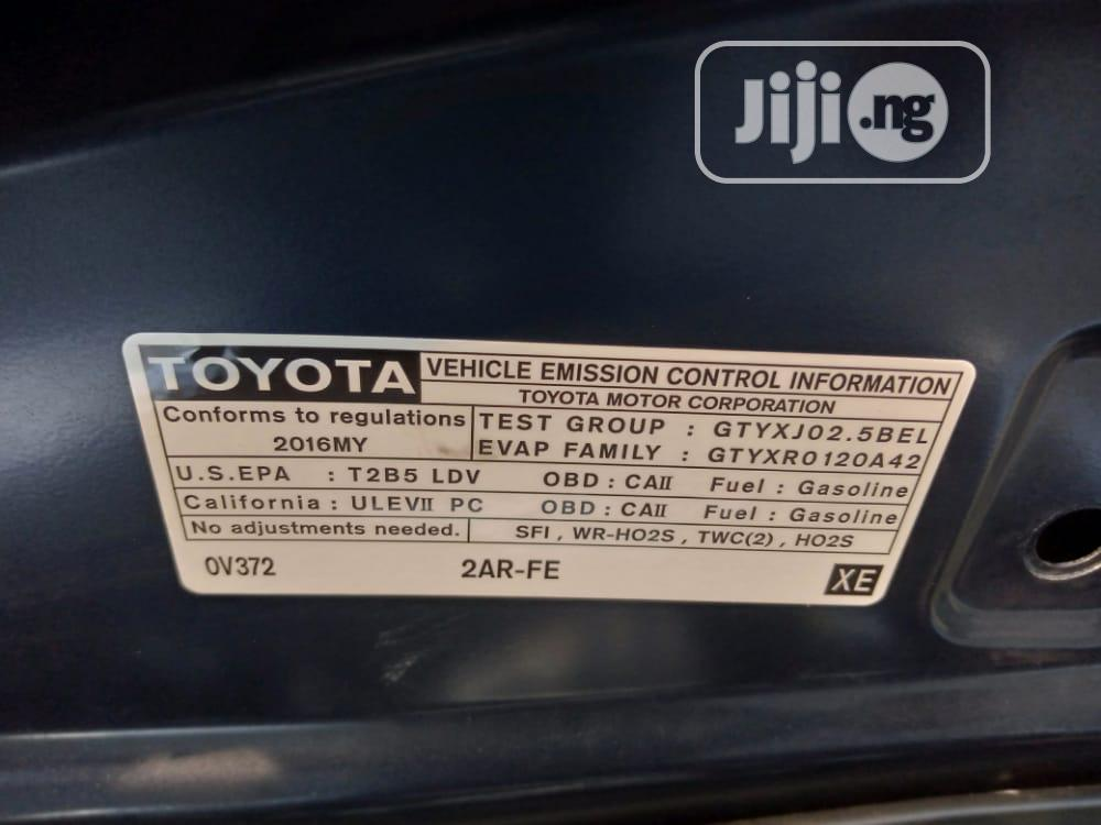 Toyota Camry 2016 Blue | Cars for sale in Surulere, Lagos State, Nigeria