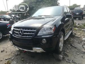 Mercedes-Benz M Class 2009 ML350 AWD 4MATIC Black   Cars for sale in Lagos State, Apapa