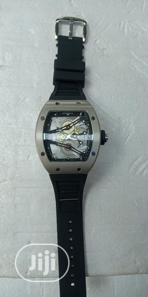 Richard Mille Men's Rubber Band Wristwatch | Watches for sale in Lagos State, Surulere