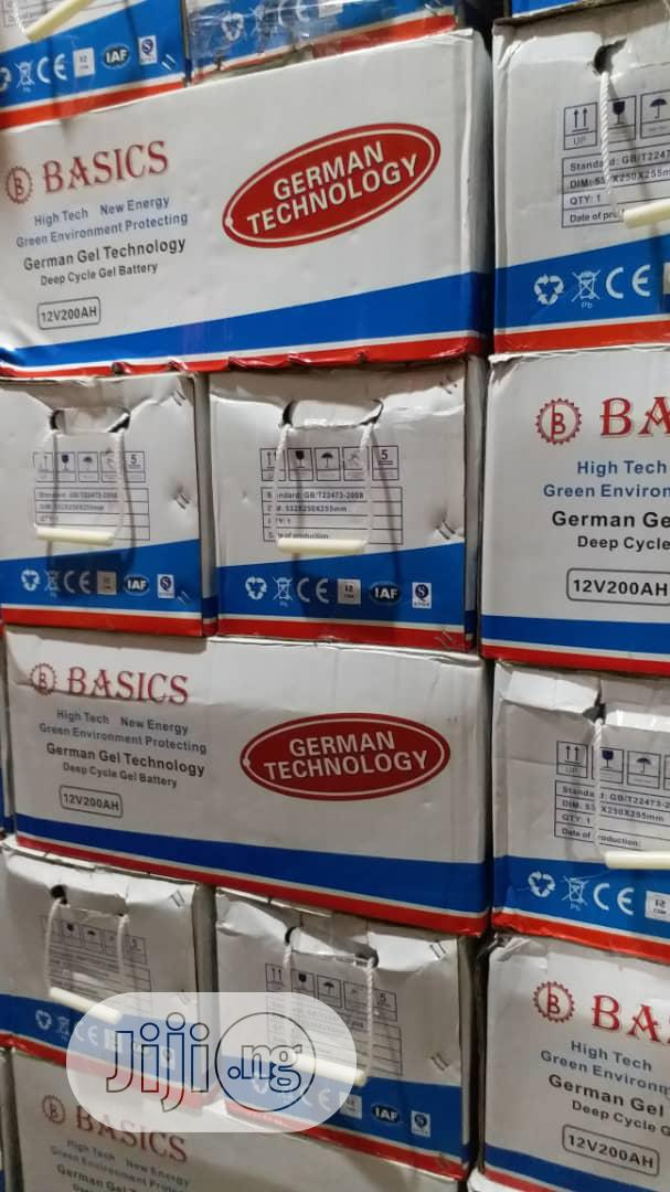Archive: 200AH Deep Cycle Battery