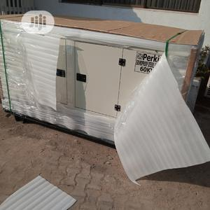 60KVA Perkins Sound Proof Diesel Generator | Electrical Equipment for sale in Lagos State, Ojo