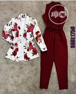 Ladies Collared Blazer Jumpsuit | Clothing for sale in Lagos State, Ikeja