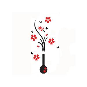 Wall Stickers Diy Vase Flower Tree Crystal 3d Wall Stickers | Home Accessories for sale in Lagos State, Lagos Island (Eko)