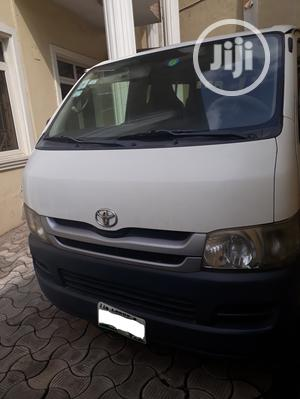 Clean Toyota Hiace 2009 White   Buses & Microbuses for sale in Lagos State, Ogudu