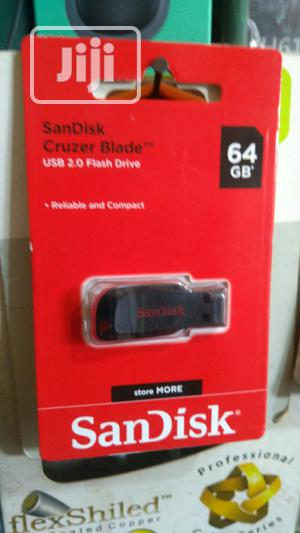 64gb Sandisk Original Flash Drive | Computer Accessories  for sale in Lagos State, Ikeja