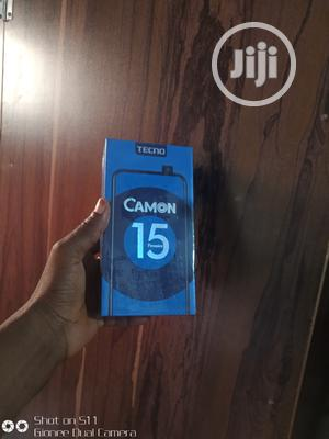 New Tecno Camon 15 Premier 128 GB Blue | Mobile Phones for sale in Lagos State, Ikeja