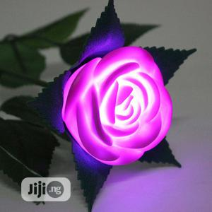 LED Flashing Romantic Rose Flower Night Light Gifts -red | Home Accessories for sale in Lagos State, Surulere