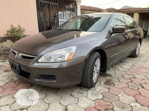 Honda Accord 2007 Gray   Cars for sale in Lagos State, Gbagada