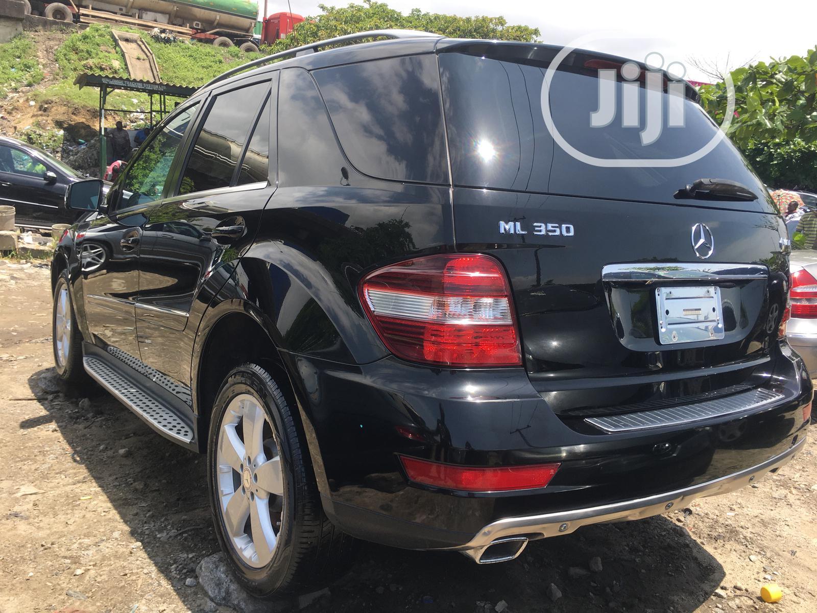 Mercedes-Benz M Class 2010 ML 350 4Matic Black | Cars for sale in Ojo, Lagos State, Nigeria