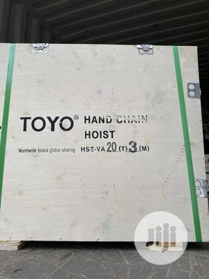 Hand Chain Hoist   Manufacturing Equipment for sale in Lagos State, Lagos Island (Eko)
