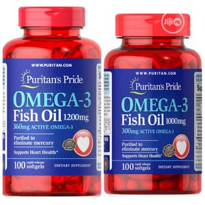 Puritans Pride Omega-3 Fish Oil for Heart Health   Vitamins & Supplements for sale in Enugu State, Enugu
