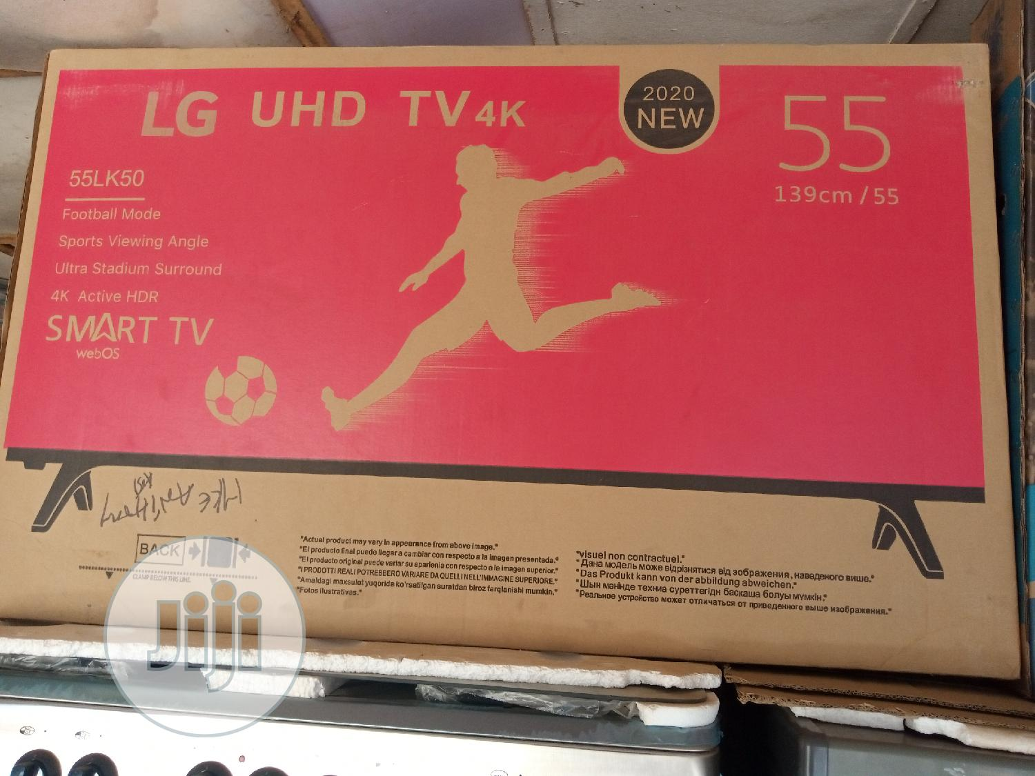 LG 55 Inches Smart TV   TV & DVD Equipment for sale in Lugbe District, Abuja (FCT) State, Nigeria