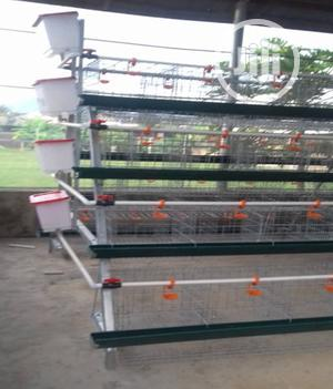 Cheap Foreign 4 Tier Poultry Cage For 128 Birds   Farm Machinery & Equipment for sale in Delta State, Udu