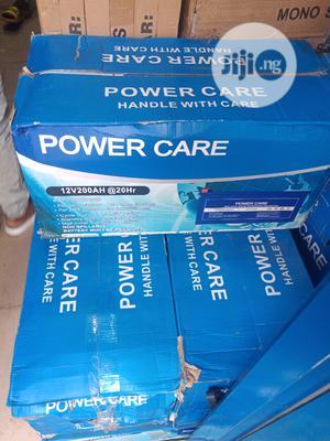 200ah 12v Power Care Solar Battery | Solar Energy for sale in Lagos State, Lekki