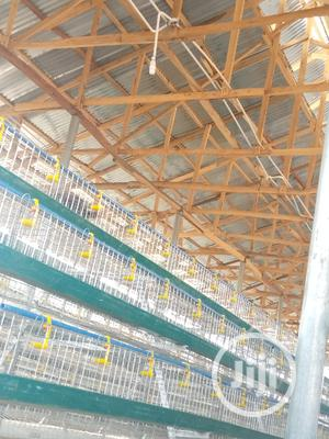 Galvanized Battery Cage | Farm Machinery & Equipment for sale in Oyo State, Oluyole