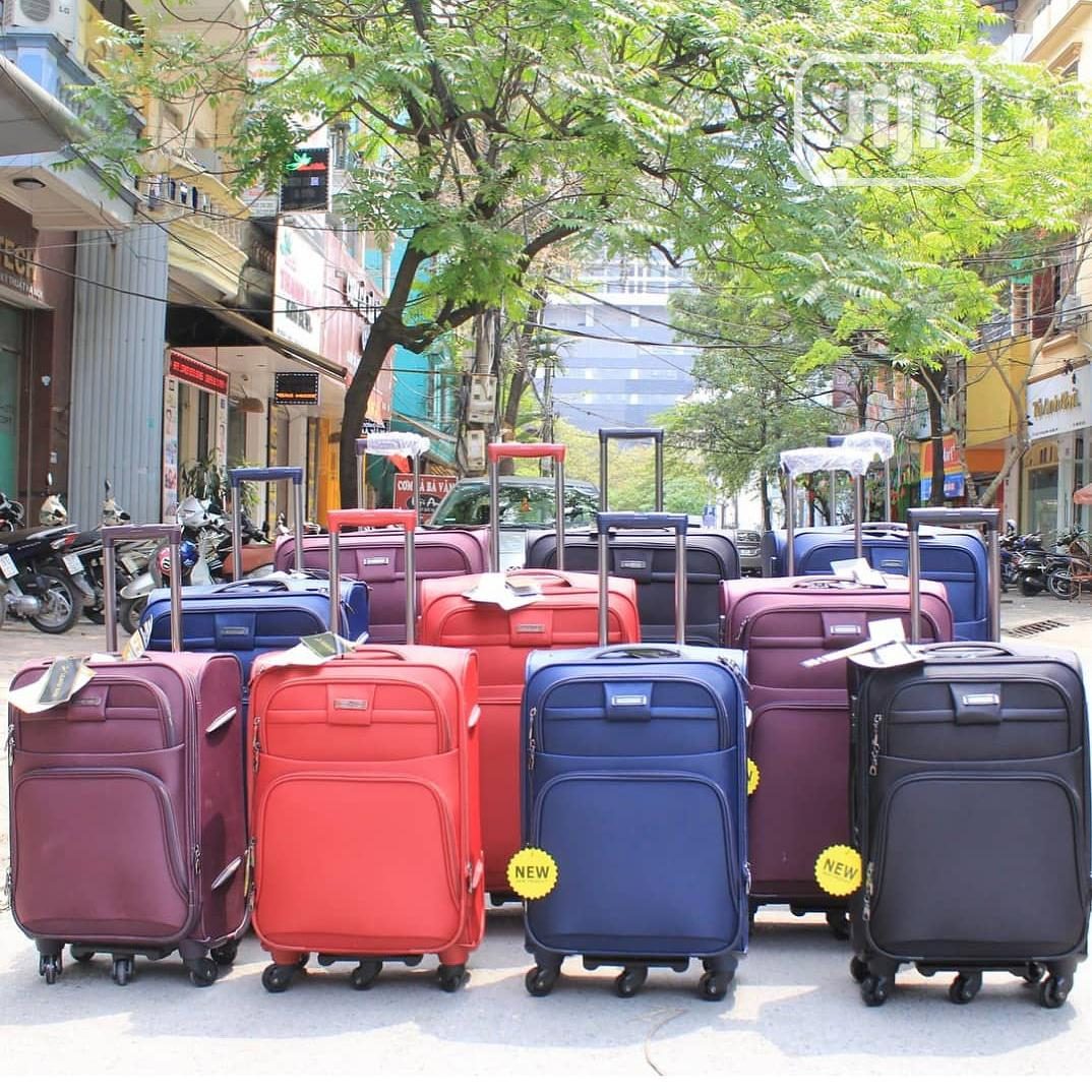 Archive: Classic Fabric Luggages