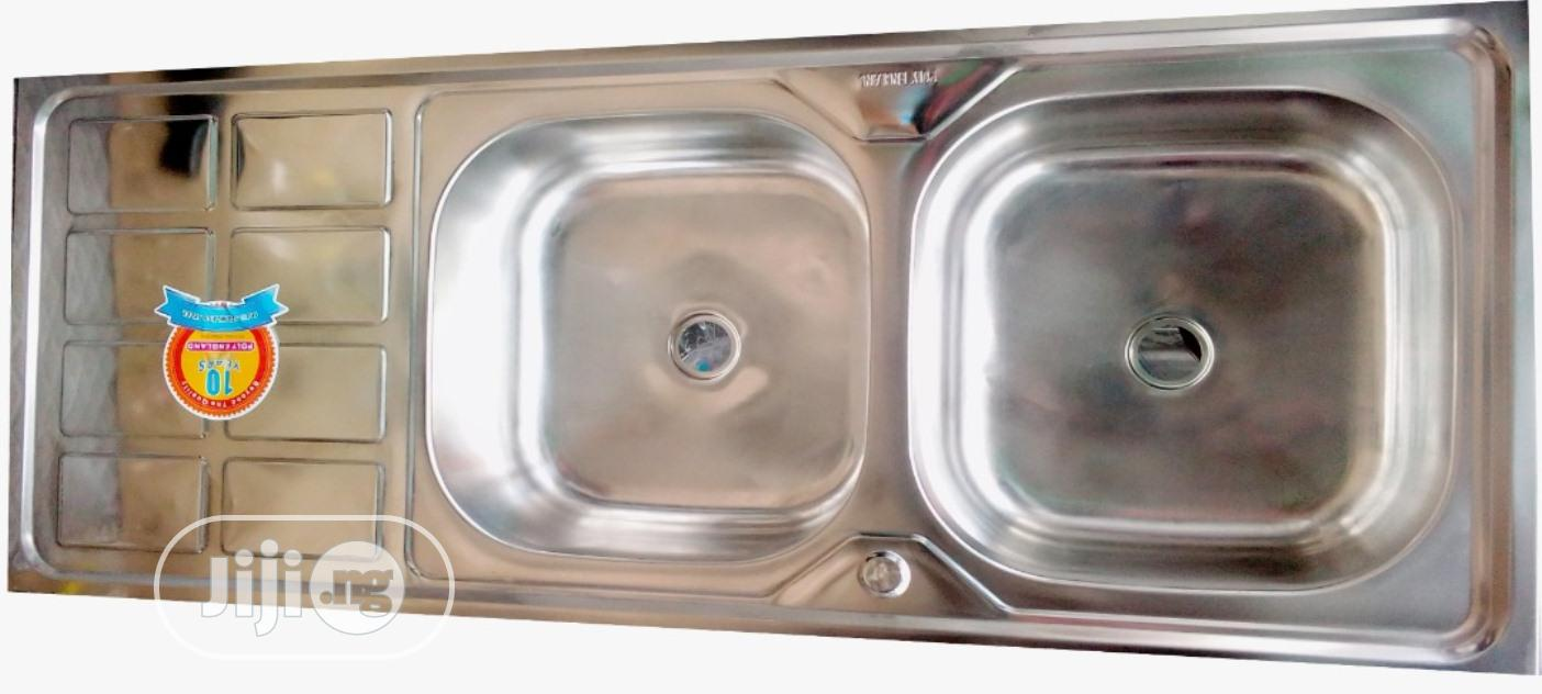 Archive: Stainless Sink (Double Bowl)
