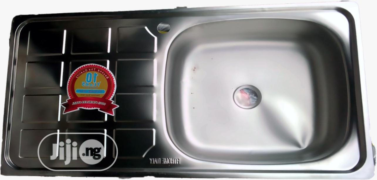 Archive: Stainless Sink (Single Bowl)