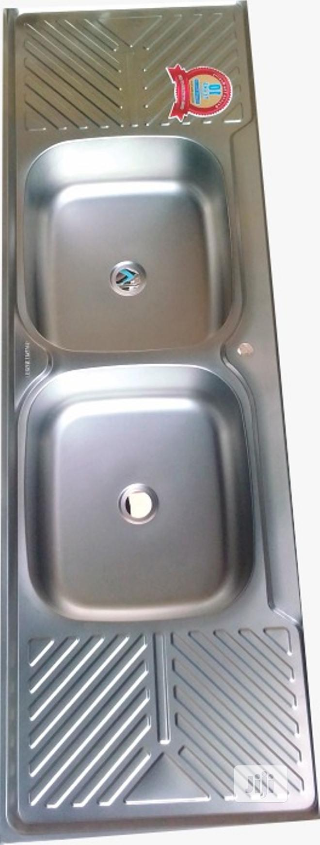 Archive: Original Stainless Sink (Double Bowl)