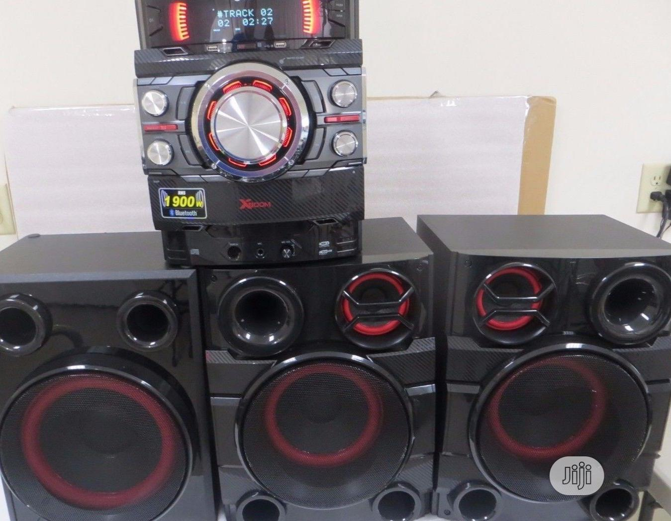 Archive: New >Lg X Boom Cj44( 720W) Powerful Sound + Bluetooth Play