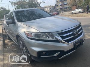 Honda Accord CrossTour 2015 EX-L w/Navigation AWD Silver   Cars for sale in Lagos State, Amuwo-Odofin