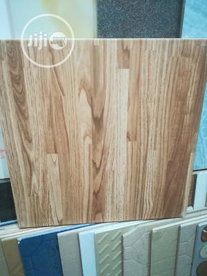 40/40 Brown Wood Floor Tile   Building Materials for sale in Lagos State, Agege