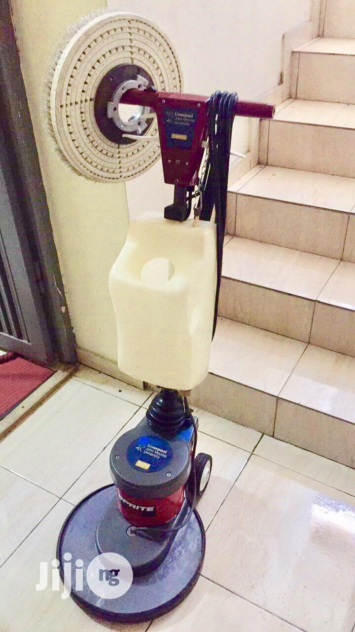 Rent Floor Scrubber (Washing and Buffing)   Cleaning Services for sale in Ajah, Lagos State, Nigeria