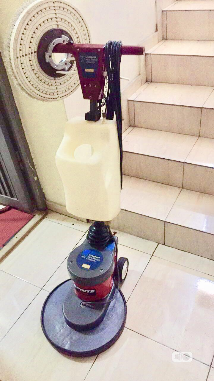 Rent Floor Scrubber (Washing and Buffing)