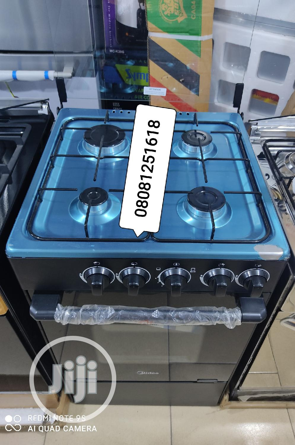 Archive: Midea Four Gas Cooker Burner With Oven Anti -Rust Iron