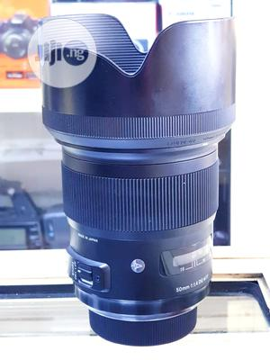 Sigma Art Lens 50mm F1.4 For Nikon Camera   Accessories & Supplies for Electronics for sale in Lagos State, Ikeja