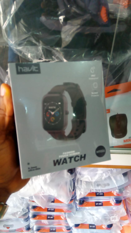 Havit M9006 Smart Bracelet Fashion Screentouch Smart Watch | Smart Watches & Trackers for sale in Ikeja, Lagos State, Nigeria