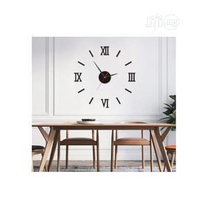 Roman Wall Clock 3D DIY Decal Wall Sticker | Home Accessories for sale in Lagos State, Lagos Island (Eko)