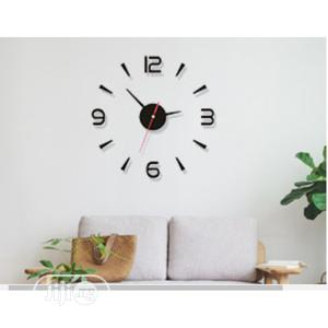 Wall Clock 3D DIY Decal Wall Sticker | Home Accessories for sale in Lagos State, Lagos Island (Eko)