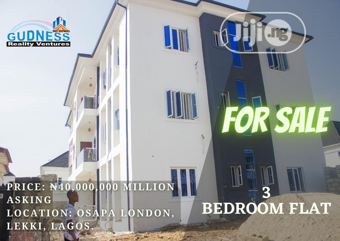 Cheap New 3 Bedroom Flat For Sale