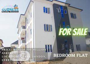 Cheap New 3 Bedroom Flat For Sale | Houses & Apartments For Sale for sale in Lekki, Osapa london