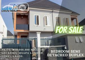 4 Bedroom Semi Detached Duplex For Sale | Houses & Apartments For Sale for sale in Lekki, Osapa london