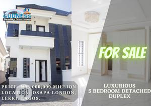Luxurious 5 Bedroom Detached Duplex For Sale   Houses & Apartments For Sale for sale in Lekki, Osapa london