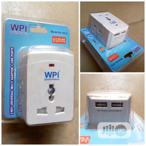 3 Way Multiple Adaptor With USB Ports   Accessories & Supplies for Electronics for sale in Lagos State, Ojo