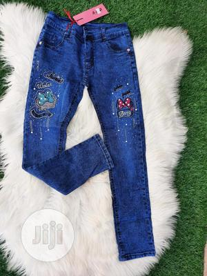 Brand New Quality Girls Jeans Trousers   Children's Clothing for sale in Lagos State, Ikeja