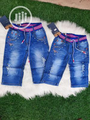 Quality Girls Jeans Short   Children's Clothing for sale in Lagos State, Ikeja