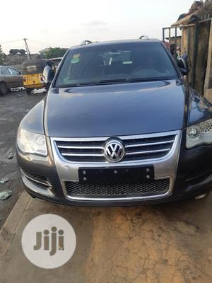 Volkswagen Touareg 2008 3.6 Blue   Cars for sale in Lagos State, Surulere