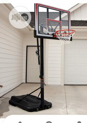 Portable Adjustable Fibre Basket Ball Stand   Sports Equipment for sale in Lagos State, Surulere