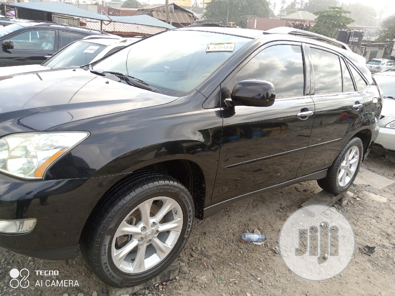 Lexus RX 2009 350 4x4 Black | Cars for sale in Amuwo-Odofin, Lagos State, Nigeria