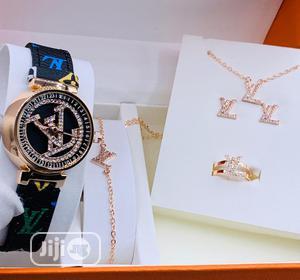 Louis Vuitton Female Set Watch | Watches for sale in Lagos State, Lagos Island (Eko)