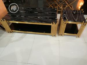 Gold Center Table | Furniture for sale in Lagos State, Ajah