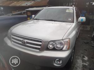 Toyota Highlander 2004 Limited V6 FWD Silver | Cars for sale in Lagos State, Apapa